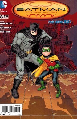 Batman Incorporated #8 Chris Burnham Variant