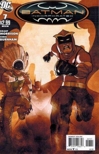 Batman Incorporated Vol. 1 #7 Frazier Irving Variant Grant Morrison