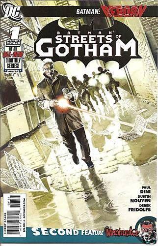 Batman Streets of Gotham #1 JG Jones Cover Variant