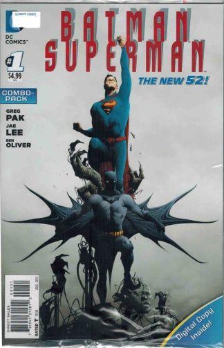 Batman Superman #1 Digital Combo Pack Greg Pak Jae Lee