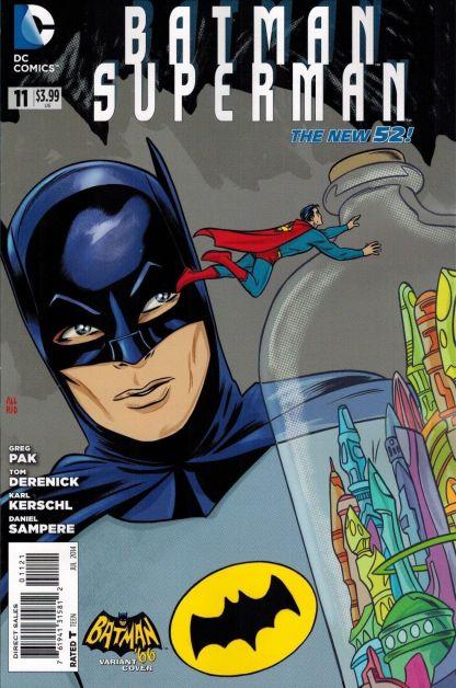 Batman Superman #11 1:25 Mike Allred Variant Batman '66