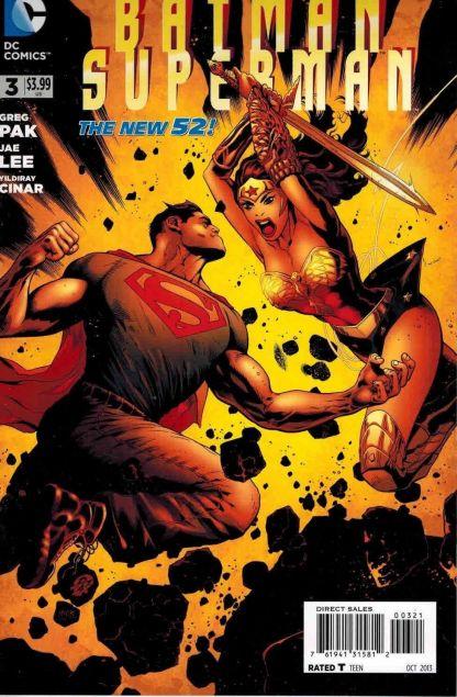 Batman Superman #3 Patrick Gleason Wonder Woman Variant Greg Pak Jae Lee