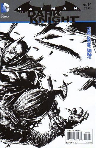 Batman: The Dark Knight #14 1:25 Sketch Variant The New 52!