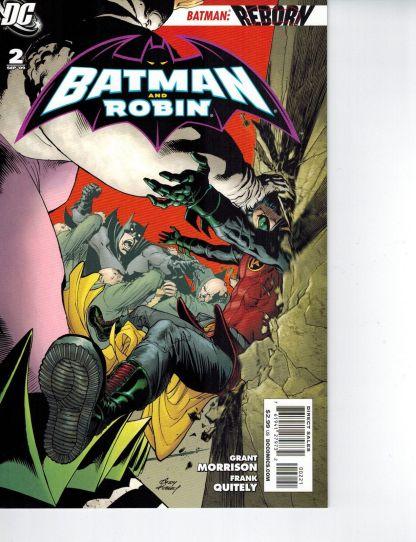 Batman and Robin #2 Kubert VARIANT