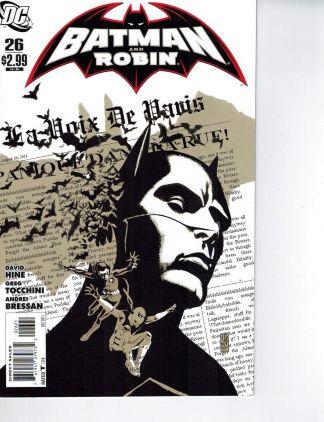Batman and Robin #26 J.G. Jones Variant