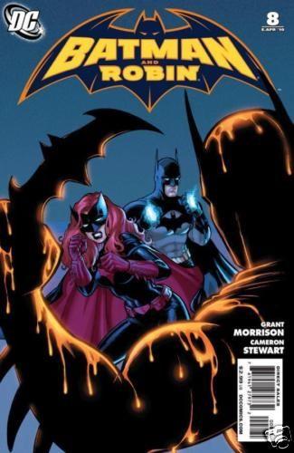 Batman and Robin #8 Stewart Variant Blackest Knight