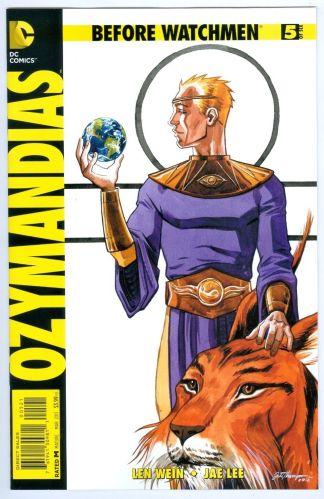 Before Watchmen Ozymandias 1:25 #5 Jill Thompson Variant DC Comics 2012