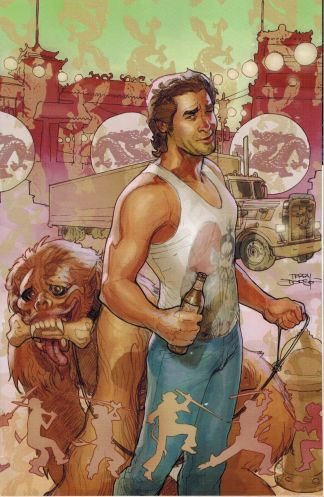 Big Trouble In Little China #1 1:50 Terry Dodson Virgin Variant BOOM 2014 Powell