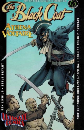Black Coat & Athena Voltaire #1 One-Shot Ultimate Comics Exclusive Variant 2009