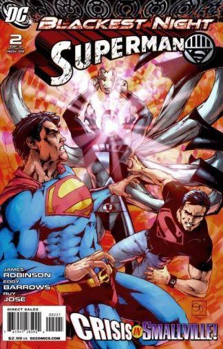 Blackest Night: Superman #2 Shane Davis Variant