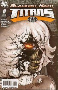 Blackest Night: Titans #1 Brian Haberlin Variant