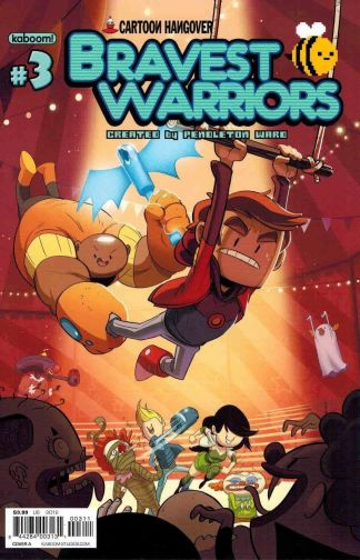 Bravest Warriors #3 Cover A Tyson Hesse Cover