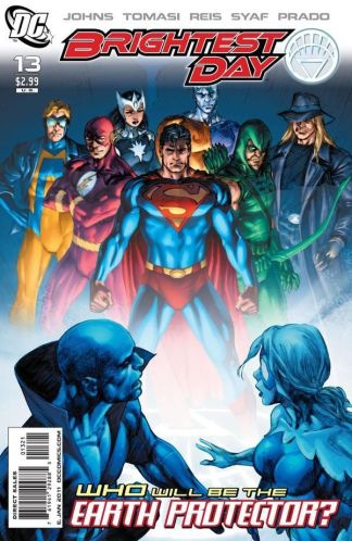Brightest Day #13 1:10 Ivan Reis Variant DC 2010 Geoff Johns Justice League