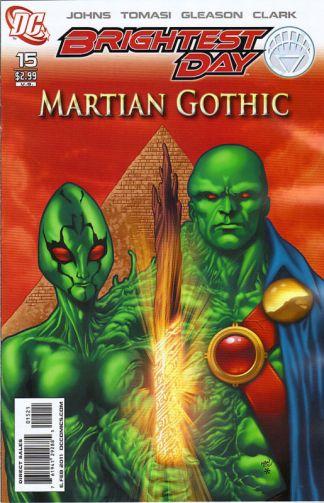 Brightest Day #15 Reis Variant MARTIAN GOTHIC