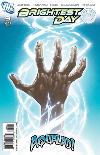 Brightest Day #9 1:25 Ivan Reis Variant DC Comics 2010 White Lantern Aqualad