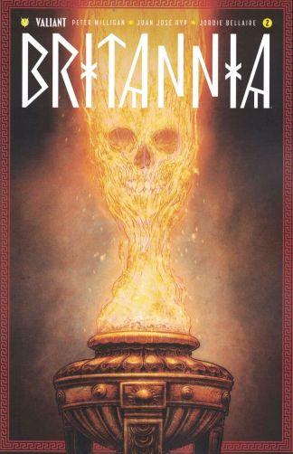 Britannia #2 1:10 Juan Jose Ryp Variant Cover C Valiant 2016