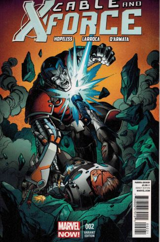 Cable and X-Force #2 Mark Bagley Variant Marvel Now 2012