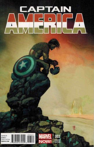 Captain America #3 1:50 Alex Maleev Variant Marvel NOW 2012