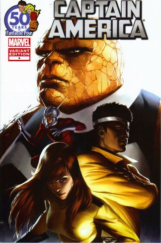 Captain America #4 50 Years of Fantastic Four Variant