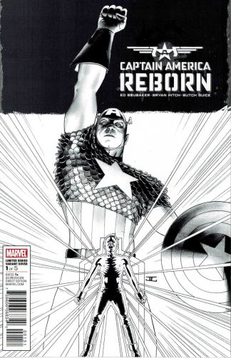 Captain America Reborn #1 1:70 John Cassaday Sketch Variant Marvel 2009