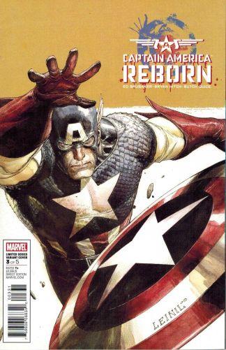 Captain America: Reborn #3 Leinil Yu Variant