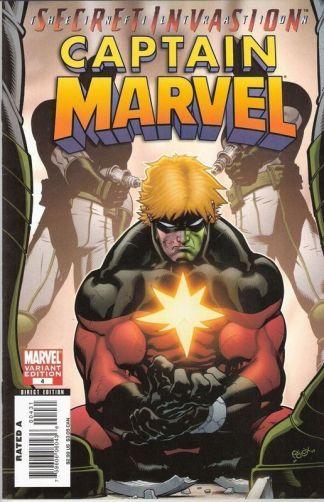 Captain Marvel #4 Secret Invasion MCGUINNESS Variant