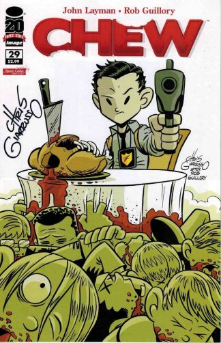 Chew #29 Signed Chris Giarusso Variant Image 2009