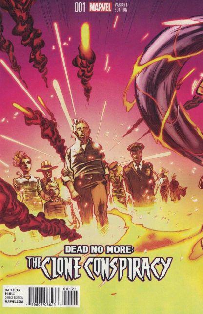 Clone Conspiracy #1 Lozano Teaser Variant Marvel 2016 Amazing Spider-Man