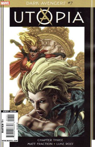 Dark Avengers #7 Simone Bianchi Utopia Variant Cover