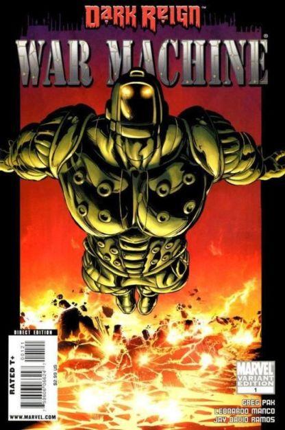 Dark Reign: War Machine #1 Mike Deodato Variant