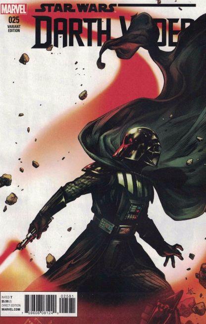 Darth Vader #25 Shirihama Final Issue Variant Marvel Star Wars 2015