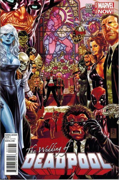 Deadpool #27 1:50 Mark Brooks Variant Wedding Marvel NOW 2012