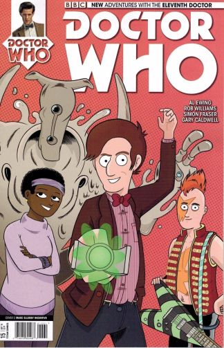 Doctor Who 11th Doctor #15 Marc Ellerby Variant