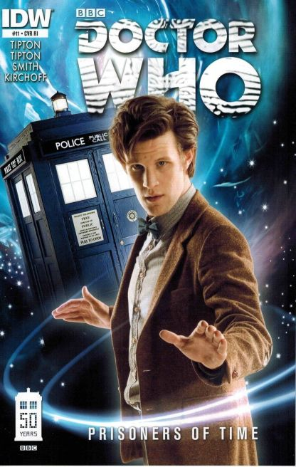 Doctor Who: Prisoners of Time #11 Matt Smith Photo Variant