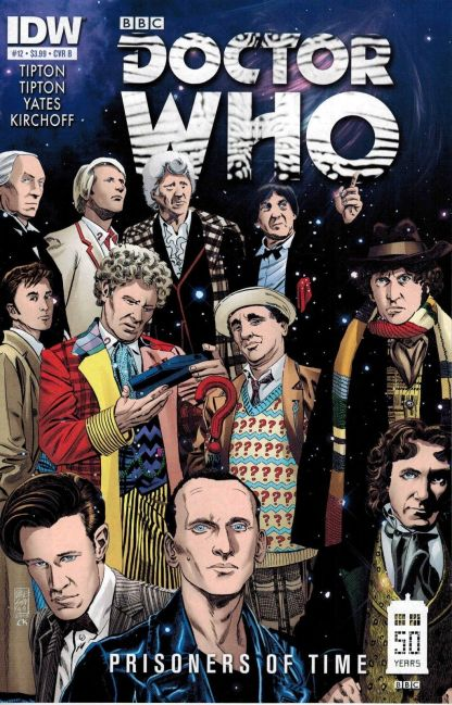 Doctor Who: Prisoners of Time #12 Dave Sim All Doctors Variant