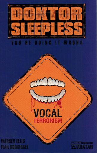Doktor Sleepless #1 Variant NSL