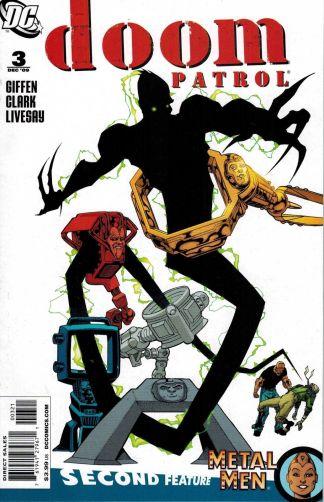 Doom Patrol #3 Matthew Clark Variant