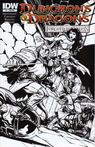 Dungeons & Dragons: Forgotten Realms #1 1:15 Variant