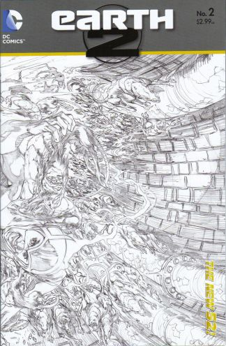 Earth 2 #2 Sketch Variant