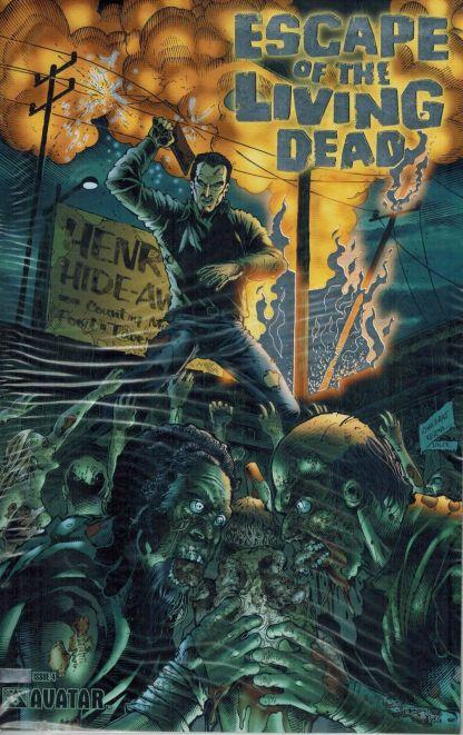Escape of the Living Dead #4 Platinum Foil Variant