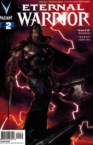 Eternal Warrior #2 Clayton Crain Variant Valiant