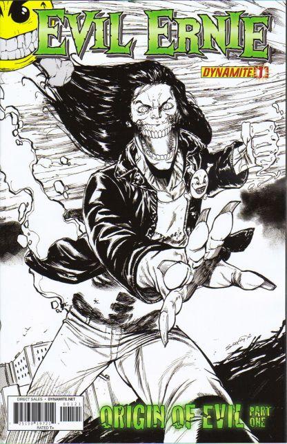 Evil Ernie #1 Tim Seeley Black & White Variant