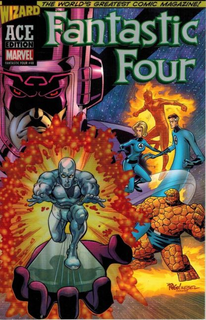 Fantastic Four #48 Wizard ACE Edition Mike Wieringo Variant 2002 Silver Surfer