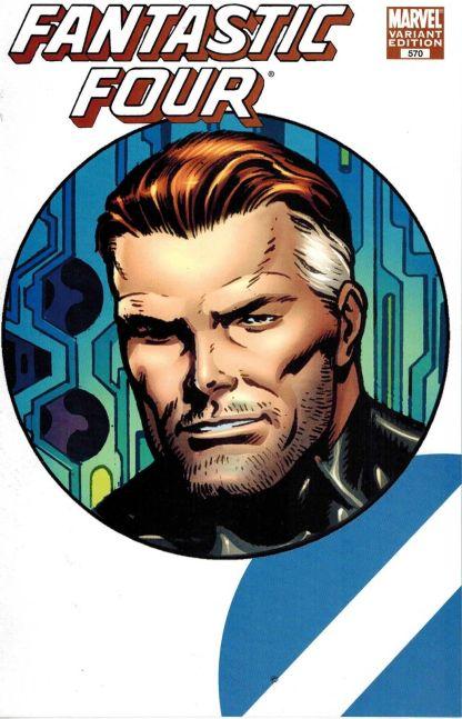 Fantastic Four #570 Dale Eaglesham Mr Fantastic Connecting Face Variant 1998