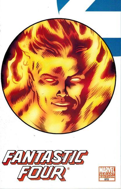 Fantastic Four #572 Human Torch Variant