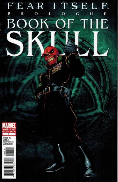 Fear Itself Book of the Skull #1 1:25 Joe Quesada Variant Marvel 2011