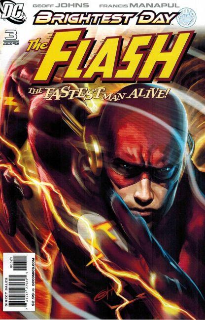 Flash #3 Greg Horn Variant