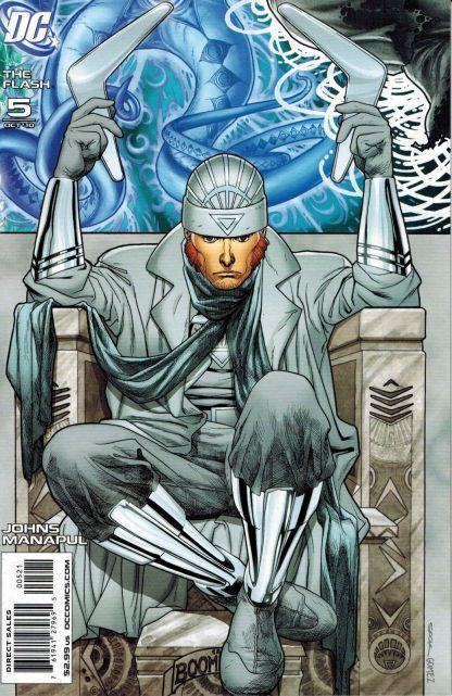 Flash #5 Ryan Sook Captain Boomerang White Lantern Variant