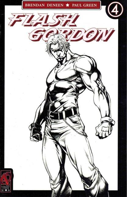 Flash Gordon #4 Sketch Variant