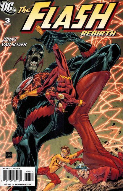 Flash: Rebirth #3 Ethan Van Sciver Variant